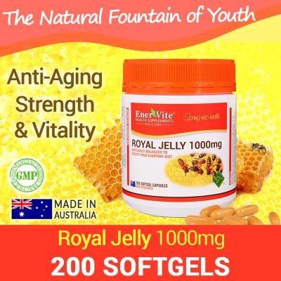 Enervite Royal Jelly 1000mg 200 Softgels