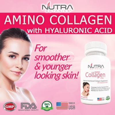 Nutra Botanics Amino Collagen + Hyaluronic Acid - ...